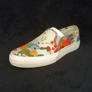 Keds floral design slip on shoes